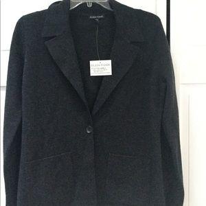 Eileen Fisher 100% Merino wool sweater coat NWT- S